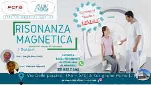 Campagna Lancio RISONANZA MAGNETICA